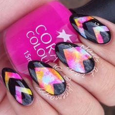 Spectral Nails- Instagram photo by xtinemayyy  #nail #nails #nailart