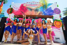 Les danseuses du #TheatroMarrakech #poolparties #Winamax #SISMIX #poker #music #festival.