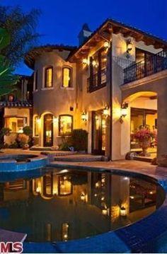 Brad Garrett's home in Malibu overlooks the ocean.  Dream House
