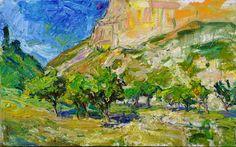 "Ulrich Gleiter | ""Apricot Orchard"" | Gallery 1261 :: Denver, Colorado"