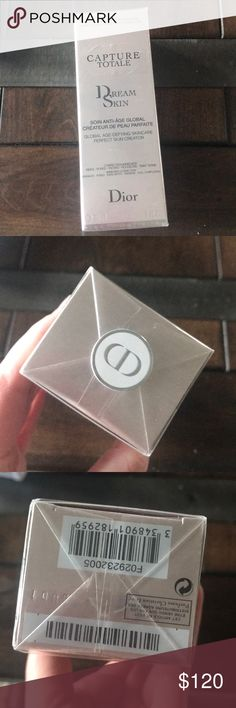New in box. Dior dream Skin capture totale New in box and cello wrapped. Dior dreamskin capture totale. 1oz Dior Makeup