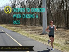 5 Tips For Selecting A Road Race | Moms Little Running Buddy