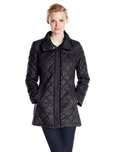 Marc New York by Andrew Marc Women's Fay Mixed Box Quilt Jacket