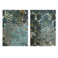 Assortment of 2 Callais Acrylic Floating Wall Art by IMAX