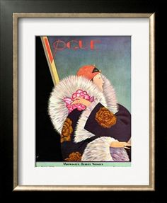 Vogue Cover - January 1927 Giclee Print by George Wolfe Plank at Art.com