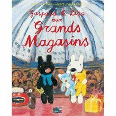 GASPARD ET LISA AUX GRANDS MAGASINS: Amazon.ca: GEORG HALLENSLEBEN: Livres en Français