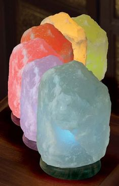 Just another lamp.. wait what? Whodathunk Salt Lamps help with Allergies!