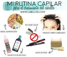 Mi rutina capilar para crecimiento del cabello |Cuestiones de mujeres