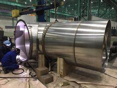 welding pipe spooling