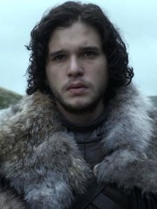 Jon Snow: My latest fictional character crush.