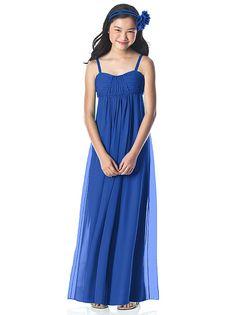 Perfect blue dress best....