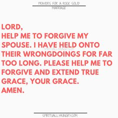 A great tool for any marriage is prayer. We all need Jesus and so do our marriages. Here are 30 prayers for a strong marriage, right in the post, to help you with your marriage at any stage. Prayer For My Marriage, Love Marriage Quotes, Prayer For Forgiveness, Strong Marriage, Saving A Marriage, Save My Marriage, Marriage Life, Marriage Advice, Love And Marriage
