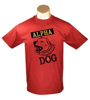 Alpha Dog - Red Men's t-shirt $19.95 #exclusive #T #Shirts #tshirt #shirt #tee