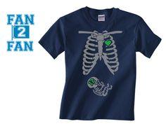 ef949321d Navy 1 Color Pregnant Maternity Baby newborn Seattle Seahawks Tee Tshirt  T-Shirt