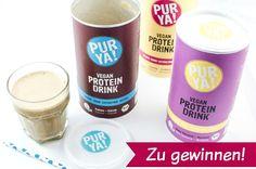 PUR YA! Endlich vegane Proteinshakes, die schmecken!