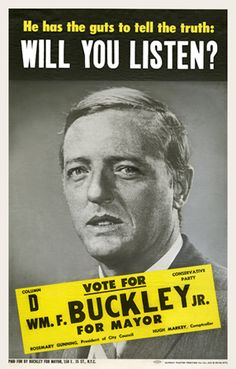 Name a few of William F. Buckley's most popular articles or essays?
