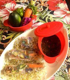 Rouleau de printemps vietnamien (avec feuille de riz) - mon premier essai Challenges, Wraps, Beginning Sounds, Spring