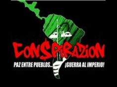 """En la lucha siempre... """"no basta la letra vamos a la protesta"""" CoN$PiRaZiOn - Mensaje y accion"""