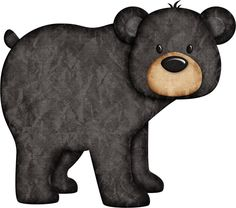 Amazing Home Sewing Crafts Ideas. Incredible Home Sewing Crafts Ideas. Applique Patterns, Craft Patterns, Scrapbooking Image, Black Teddy Bear, Teddy Bears, Bear Clipart, Country Bears, Bear Drawing, Bear Crafts