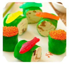 Sushi Surprise - Made from ICE CREAM!