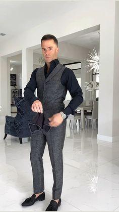 Rave Outfits Men, Blazer Outfits Men, Formal Men Outfit, Formal Suits, Mad Men Fashion, Mens Fashion Suits, Fashion Menswear, Harry Styles, Slim Fit Suits