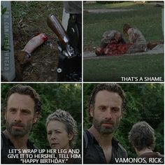 The Walking Dead-Carol: no longer a giver of fucks. I'm seriously crying omg