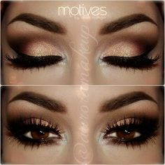 Brows and Golds- Stunning
