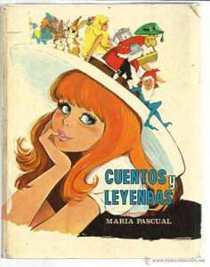 CUENTOS Y LEYENDAS. ILUSTRACIONES MARÍA PASCUAL. EDICIONES TORAY. BUENOS AIRES. 1971 - Foto 1