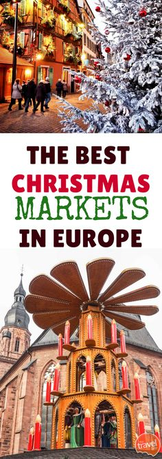 3 Reasons To Take A Christmas Markets Cruise!!! There are places in this world that magnify the magical feeling of the holiday season, especially in Europe. Half-timbered houses dusted in snow, giant fir trees in every town square, and garland strung with lights around pop up shops certainly set the mood. But the best Christmas markets in Europe will have you believing that you've shrunk down in size to explore a winter wonderland inside one of those adorable miniature snowy village…