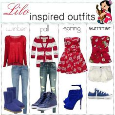 Lilo Inspired outfit