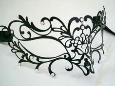 Angel Venetian Masquerade Mask - Swarovski Edition
