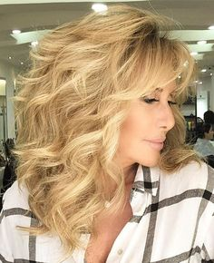 Mother Of The Bride Hairstyles #weddinghairstyles