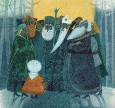 Violeta Dabija, Illustration for Twelve Months