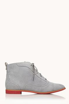 Forever 21 Go-To Oxford Booties, $29.80, available at Forever 21.