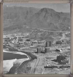 Tenerife, playa Las Américas - año 1970....
