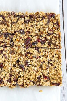 No-Bake 5-Ingredient Granola Bars