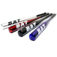 "These bats come in up to 34"" and I like the Red and Blue ones as a prop!"