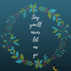 Say you'll never let me go – The Chainsmokers (Roses)
