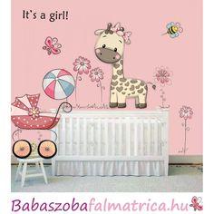 Zsiráf kislány született babaszoba falmatrica #zsiráf #babaszoba #falmatrica #kislány Toddler Bed, Family Guy, Pink, Fictional Characters, Home Decor, Art, Child Bed, Art Background, Decoration Home