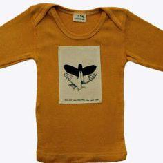 Hip baby clothes Eagle shadow puppet tshirt boy girl newborn - 24mos.