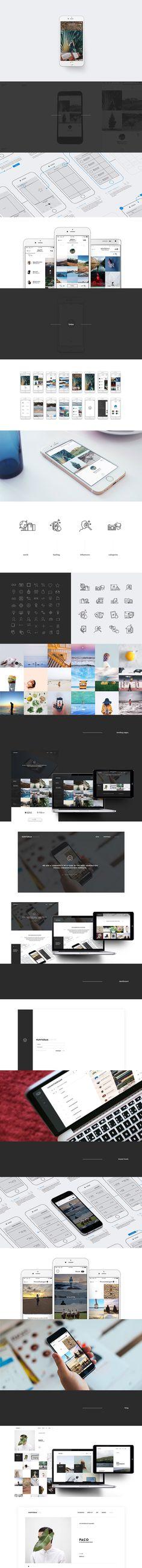Huntgram App & Ecosystem designed by Donhkoland #Design #Digital #App #Brand #ProductDesign #Icons #Analitycs #Tools