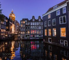 Amsterdam sunset -