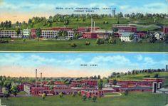 Wry-1 Rusk State Hospital_01 St Hosp best postcard