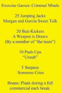 Criminal Minds Workout Game