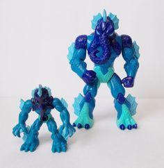 "Gormiti Lords Of Nature Series 1 Polypus Figure Sea Tribe 5.5""  Rare 2009 W Mini #PlaymatesToys"
