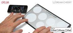 Una batería electrónica para tus dispositivos iOS