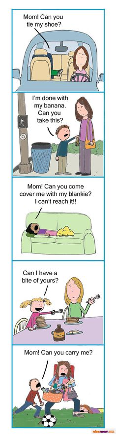 Lol! The everyday life of a mama:)