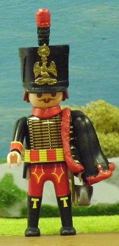 FRANZOSE Garde Husar m. Dolman Grand Armee Napoleon PLAYMOBIL © CUSTOM UNIKAT 37