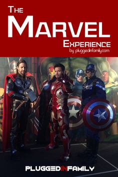 Become a S.H.I.E.L.D. recruit at The Marvel Experience #MarvelExperience