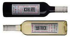 Wine bottle #labels | Hat Trick